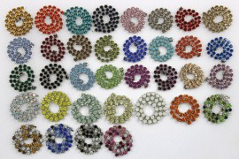 CATENA STRASS COLORATA
